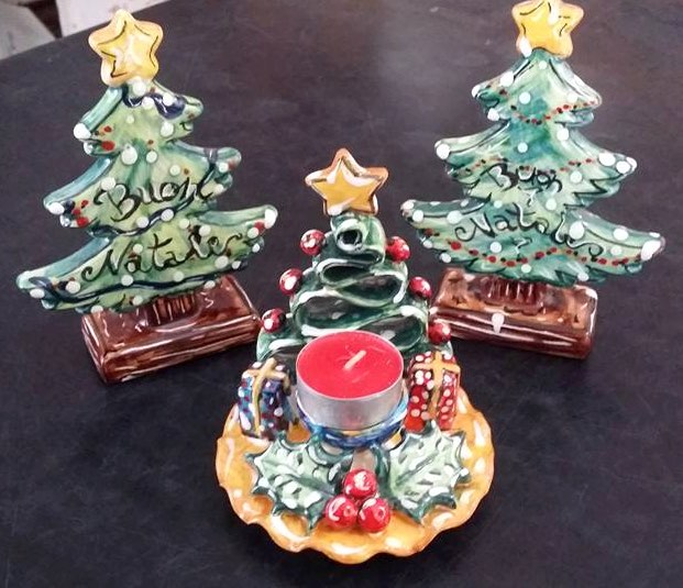 Idee regalo in ceramica per Natale