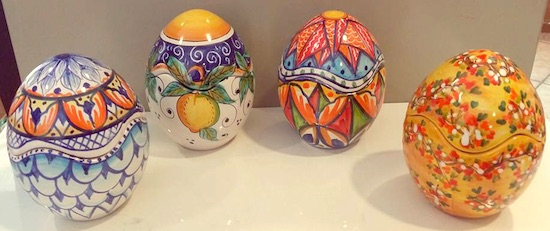 Uova Di Pasqua Ceramica.Uova In Ceramica Pasqua Ceramica Celano
